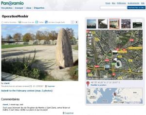 Des Menhirs à Saint-Denis !