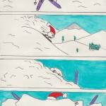 à la neige