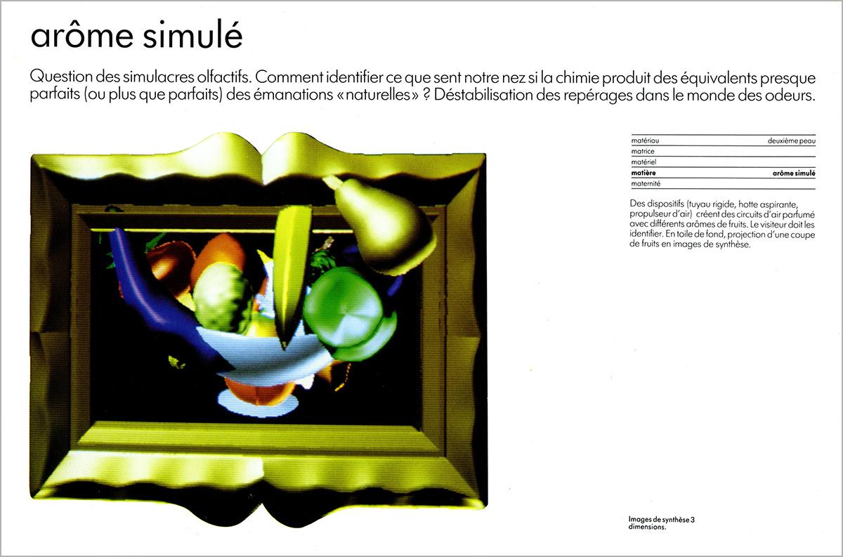 Marie-Hélène Tramus. Retour sur les Immatériaux, 30 mars 2005