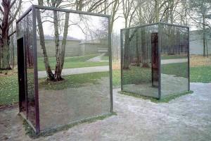 Construction d un lieu les pavillons de dan graham for Verre miroir sans tain
