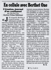 Article publié dans le Canard Enchainé