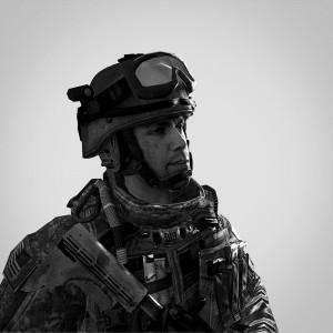 Pvt Shiring, série First Person Shooter, 2011, photographie, tirage jet d'encre sur papier peint ou papier Baryté, dimensions variables