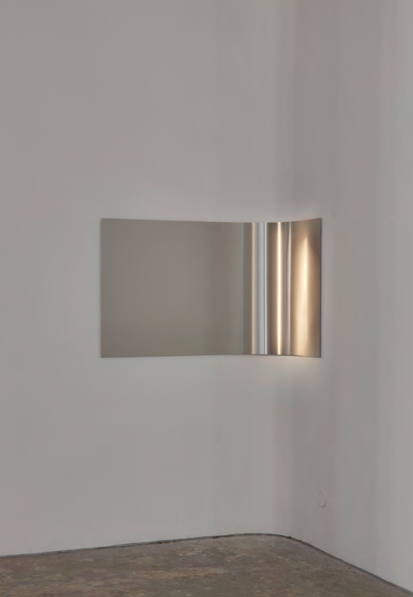corner, 2010 Ed. 1/3 acier inoxydable brossé, 80 x 150 cm