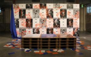 All art is propaganda, installation proposée par Charles Bontout lors de Jeune création 2014