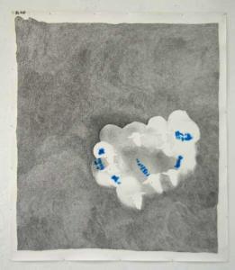 Marion Bénard, Mouvement 1, 2010, crayon sur papier, 175 x 150 cm. © Marion Bénard