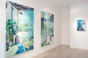 Vue de l'exposition As Long as It Lasts à la Galerie Virginie Louvet de Paris © Marion Charlet
