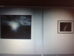 Vue de l'exposition Le lieu où se déroule la scène à la Galerie Odile Ouizeman © Valentina Parisio