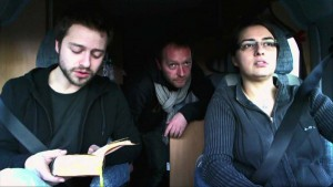 """858 pages plus au sud"" Le film 2011/59 min Production Le Fresnoy,  Studio National"