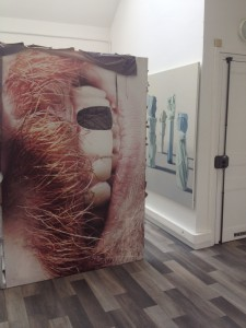 Vue de l'exposition à la Cité Internationale des Arts (Site de Montmartre) © Mathieu Buard