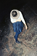 Benjamin Mouly, Path, 2012, 33,5 x 50 cm Crédits : Benjamin Mouly, Galerie les Filles du Calvaire