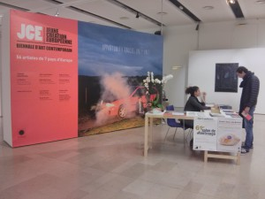Vue de l'exposition Jeune création européenne, au Beffroi de Montrouge du 15 octobre au 3 novembre ©Mona Prudhomme