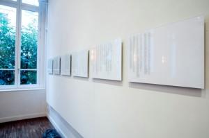 Sara Acremann, La Liste, texte, 2015 © Sara Acremann
