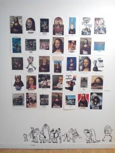 """Vue de l'exposition sur la Série """"Un rêve inaccessible"""", Collectif ENSADERS, Maison des Arts de Bagneux"""