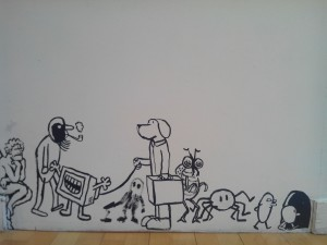 Vue de l'exposition, Collectif ENSADERS, Maison des Arts de Bagneux