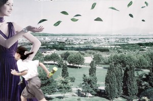 Sara Acremann, Série Pékin, deuxième périphérique, photographie numérique 120cm x 160cm, 2011 ©Sara Acremann