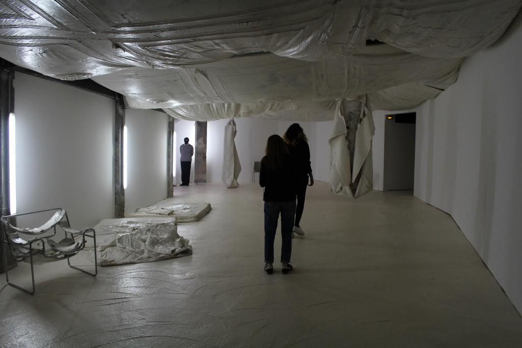 Mélanie Matranga, vue d'exposition Photo : Clémentine Lemoigne