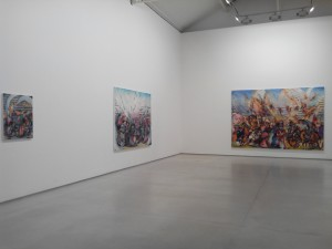 Vue de l'exposition - Galerie Thaddeus Ropac