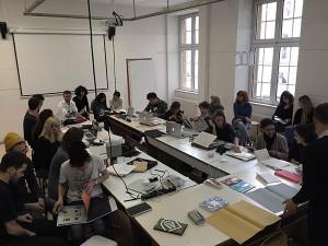 L'Atelier de communication graphique de la Haute école des arts du Rhin, à Strasbourg, en novembre 2014.