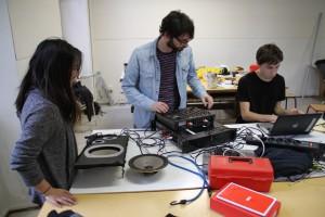 Workshop à la Haute école des Arts du Rhin, à Strasbourg, en 2013.