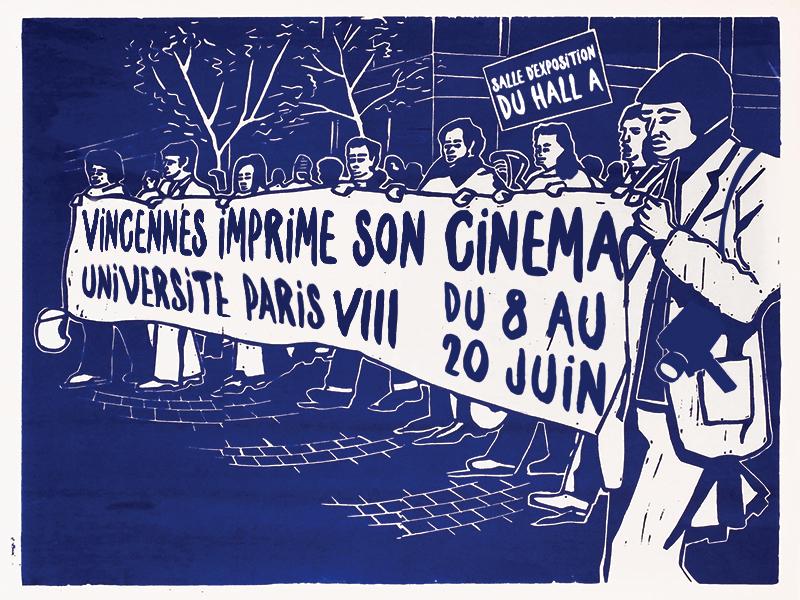 Affiche Vincennes imprime son cinéma