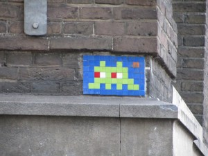 space invader amsterdam